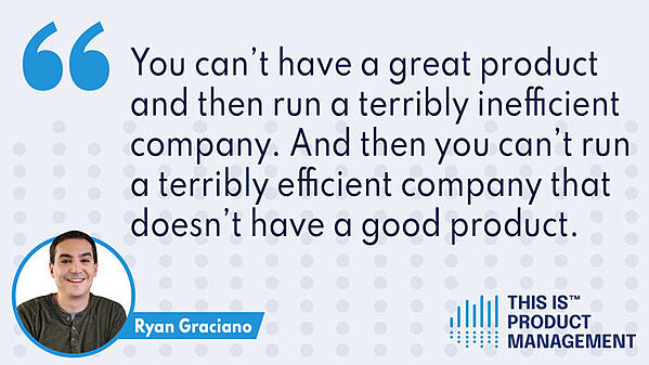 Ryan Graciano, guest on This Is Product Management